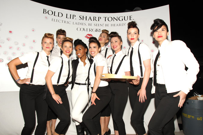 "Janelle Monae And Target Celebrate Release Of ""The Electric Lady"""